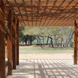 Création d'une pergolas en bois