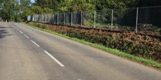 Réalisation de clôture grillage