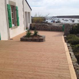 Terrasse bois en douglas